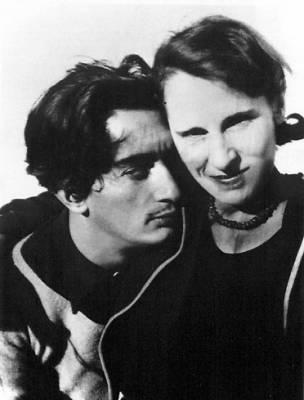 Henry Miller, Anaís Nin, Salvador Dalí y Gala conviviendo en una mansión